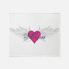 My Sweet Angel Alina Throw Blanket