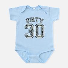 Dirty 30 Grunge 2 Infant Bodysuit