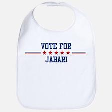 Vote for JABARI Bib