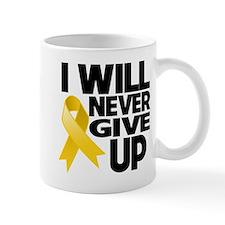 Never Give Up Neuroblastoma Mug