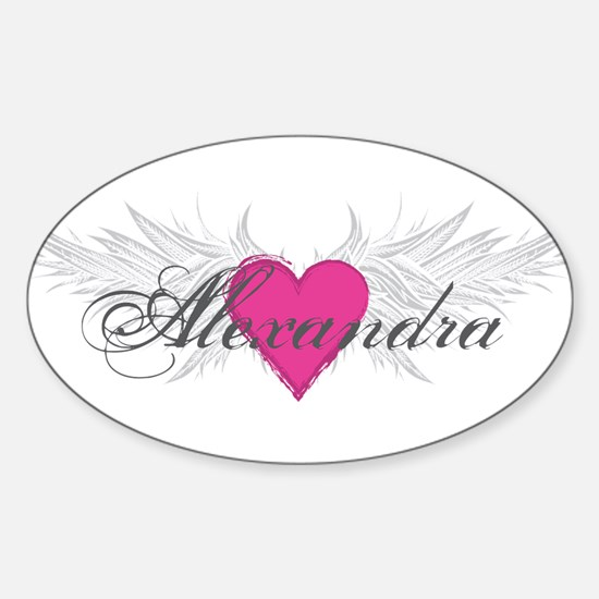 My Sweet Angel Alexandra Sticker (Oval)