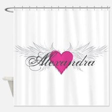 My Sweet Angel Alexandra Shower Curtain