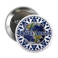 Travel Addict 'Compass' Button