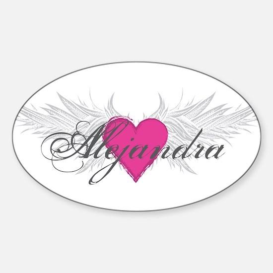 My Sweet Angel Alejandra Sticker (Oval)
