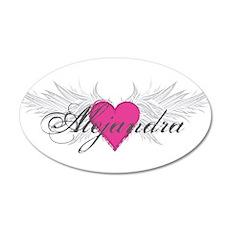 My Sweet Angel Alejandra 35x21 Oval Wall Decal