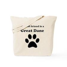 Great Dane Best Friend Tote Bag