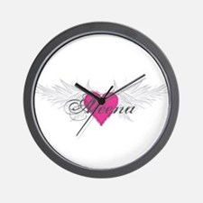 My Sweet Angel Aleena Wall Clock