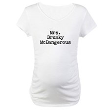 Mrs. Drunky McDangerous Shirt