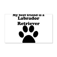 Labrador Retriever Best Friend Wall Decal