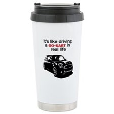 Cute Karting Travel Mug