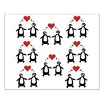 Penguins In Love Small Poster