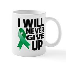 Never Give Up Liver Cancer Mug