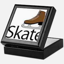iSkate I love to ice skate Keepsake Box
