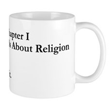 Chapter 1 Words About Religion Mug