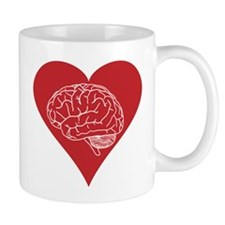 I love brains for zombies and geeks Mug
