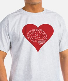 I love brains for zombies and geeks T-Shirt