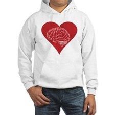 I love brains for zombies and geeks Hoodie