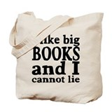 I like big books Totes & Shopping Bags