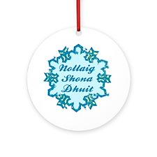 Nollaig Shona Dhuit Ceramic Ornament
