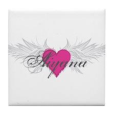 My Sweet Angel Aiyana Tile Coaster