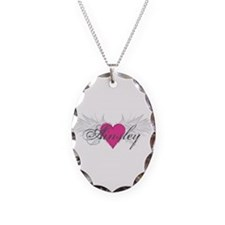 My Sweet Angel Ainsley Necklace Oval Charm