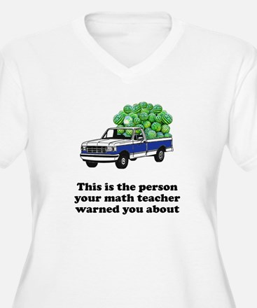 Person math teacher warned T-Shirt