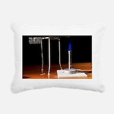 Conduction of heat - Rectangular Canvas Pillow
