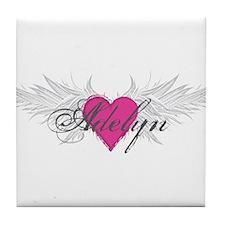 My Sweet Angel Adelyn Tile Coaster