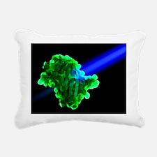 Green fluorescent protein - Rectangular Canvas Pil