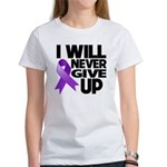 Never Give Up GIST Cancer Women's T-Shirt