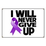 Never Give Up GIST Cancer Banner