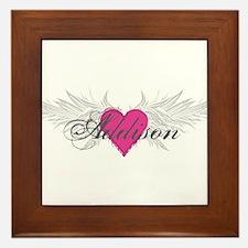 My Sweet Angel Addison Framed Tile