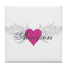 My Sweet Angel Addison Tile Coaster
