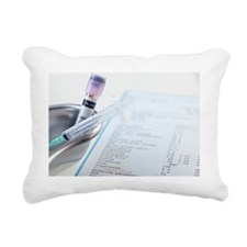 Medical testing - Rectangular Canvas Pillow