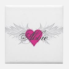 My Sweet Angel Abbie Tile Coaster