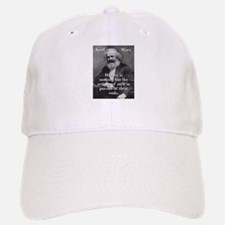 History Is Nothing - Karl Marx Baseball Baseball Baseball Cap