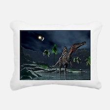 Spinosaurus witnessing a lunar impact - Rectangula