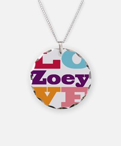 I Love Zoey Necklace