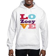 I Love Zoey Hoodie