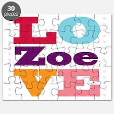 I Love Zoe Puzzle