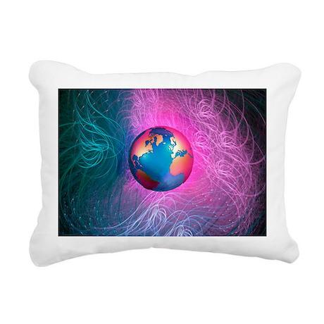 World wide web, conceptual artwork - Rectangular C