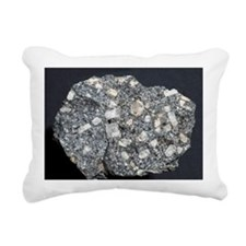 Anorthite in andesite - Rectangular Canvas Pillow