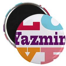 I Love Yazmin Magnet