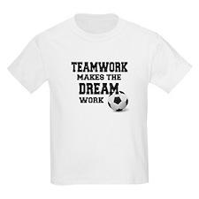 TEAMWORK - SOCCER T-Shirt