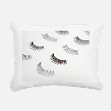 False eyelashes - Rectangular Canvas Pillow