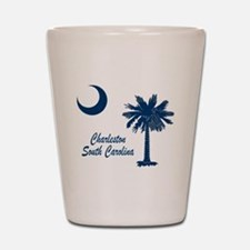 Charleston 4 Shot Glass
