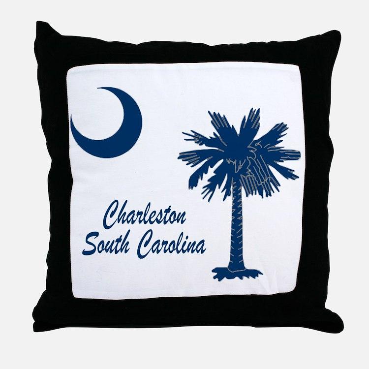 Charleston 4 Throw Pillow