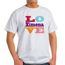 I Love Ximena T-Shirt