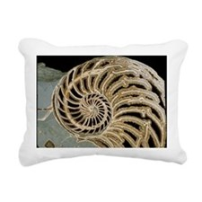 Fossilised nautilus shell - Rectangular Canvas Pil