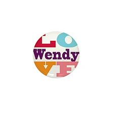 I Love Wendy Mini Button